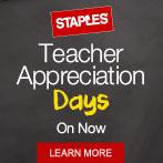 Staples Teacher Appreciations Days