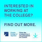 Interested in working at the College?