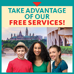 Take advantage of our free services