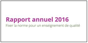 Lisez notre rapport annuel