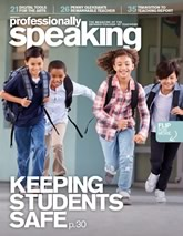 Professionally Speaking magazine cover