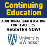 Continuing Education - Register Now - University of Windsor