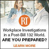 Workplace Investigations in a Post-Bill 132 World