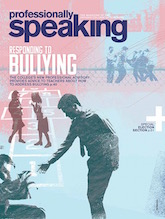 Professionally Speaking magazine cover