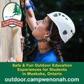 Camp Wenonah - Outdoor Education Experiences for Students