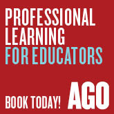 Professional Learning for Educators. Book Today. Art Gallery of Ontario
