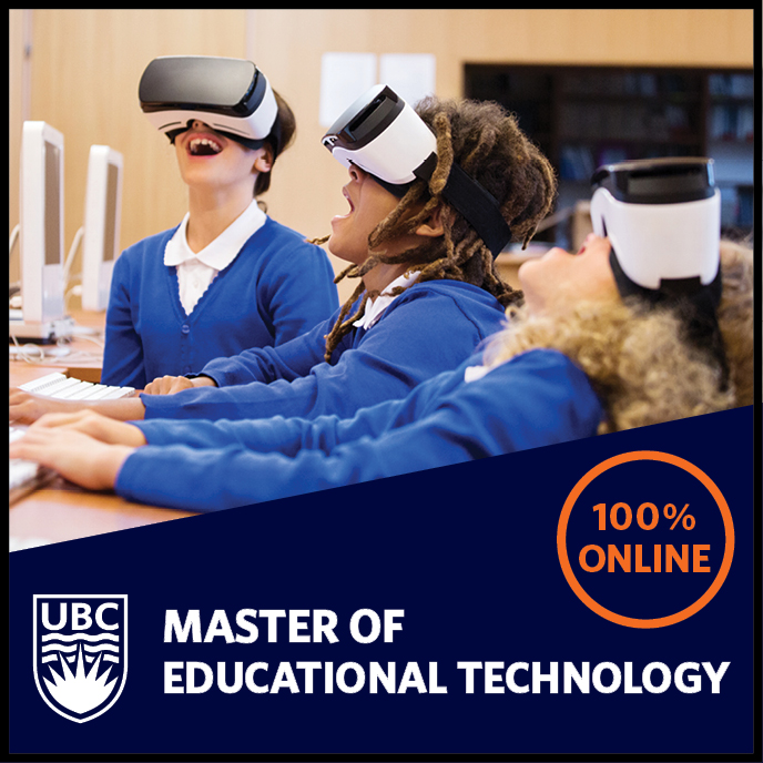 UBC Master of Educational Technology